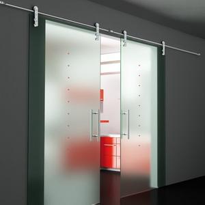razd Установка роликовой двери (откатная дверь)